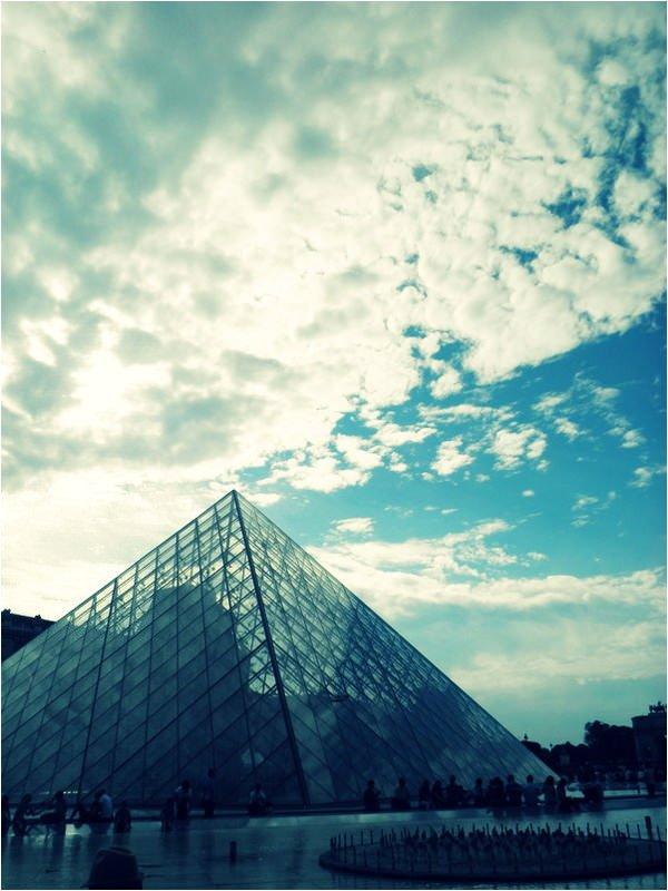 ルーブル美術館の三角