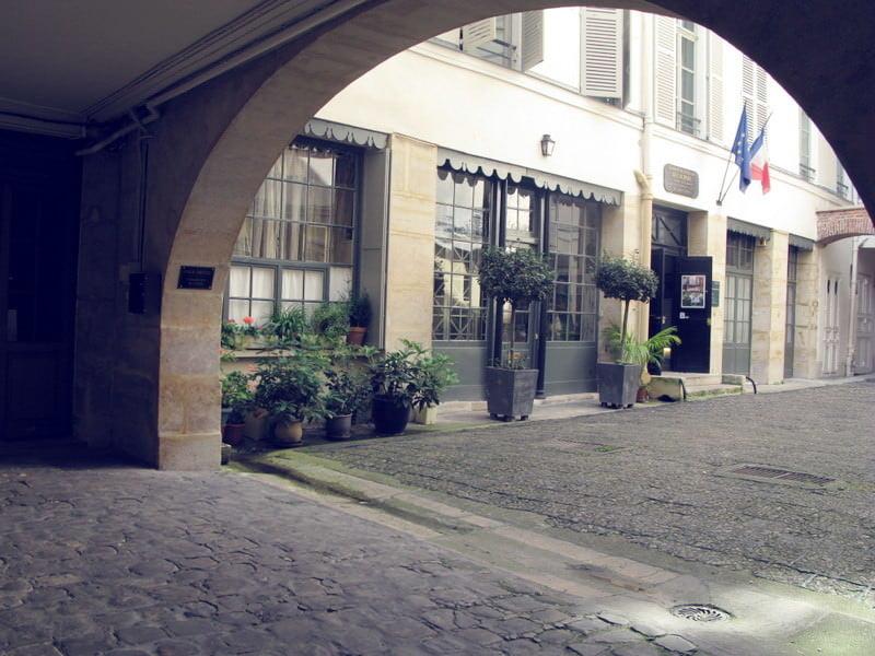ドラクロワ美術館の入り口