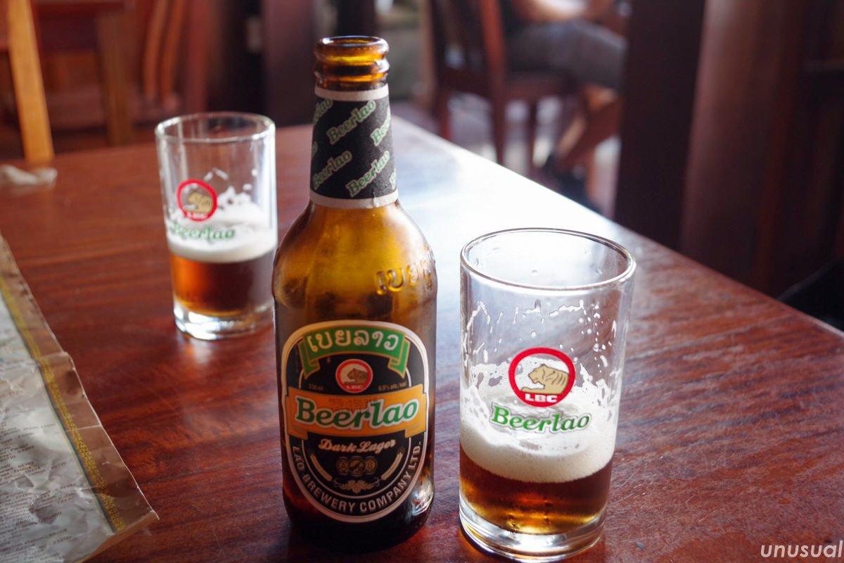 ラオスのビール ビアラオ