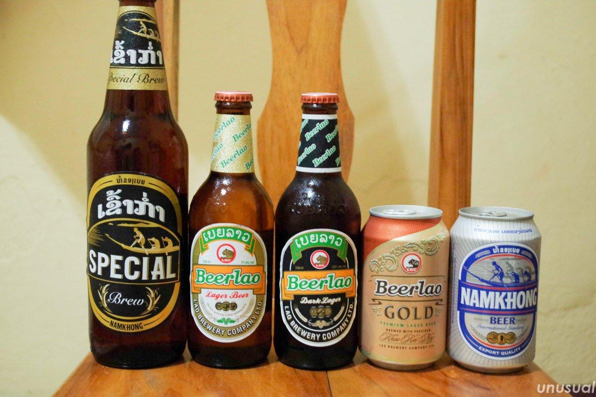 ラオスのビール