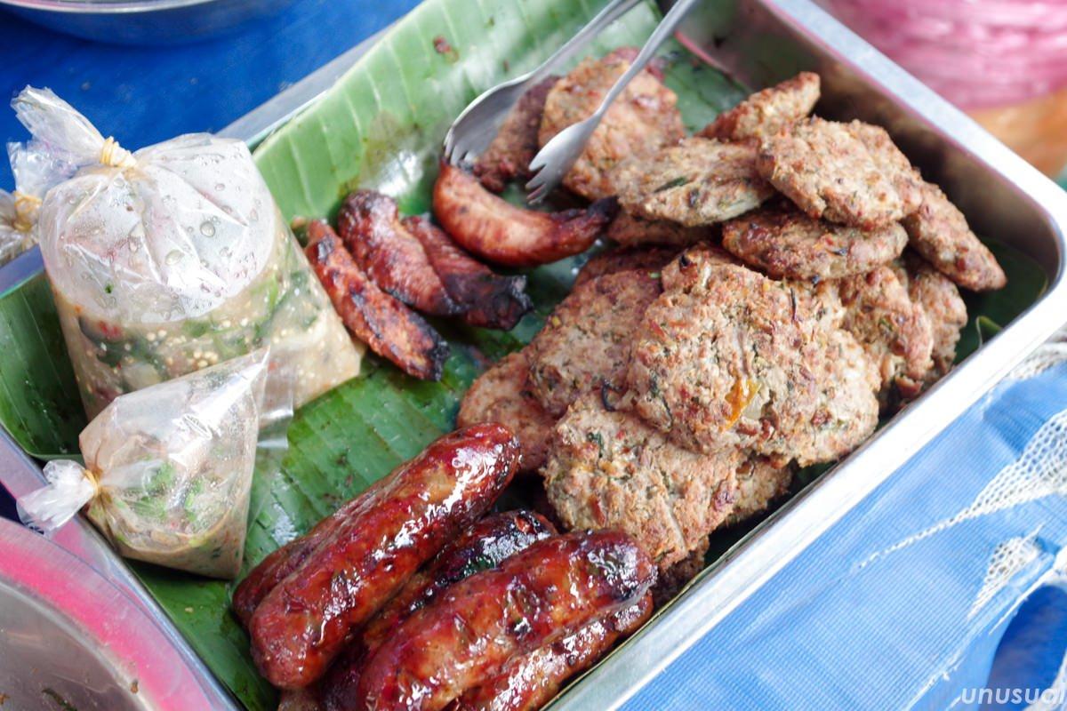 ラオスの肉料理