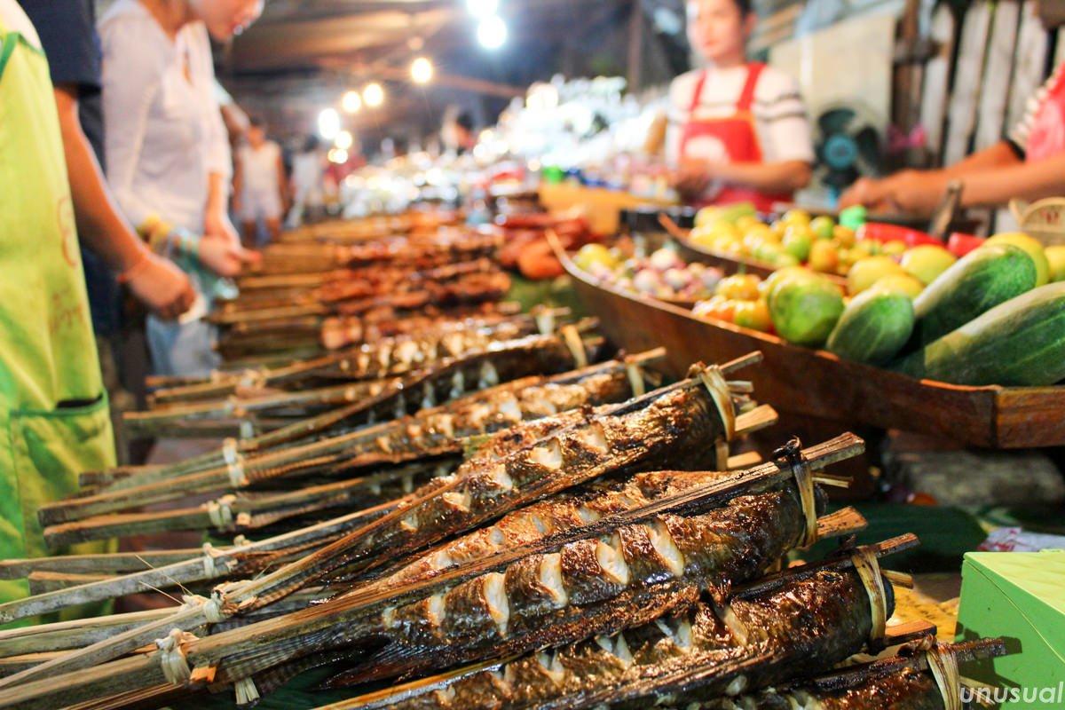ラオス料理 焼き魚