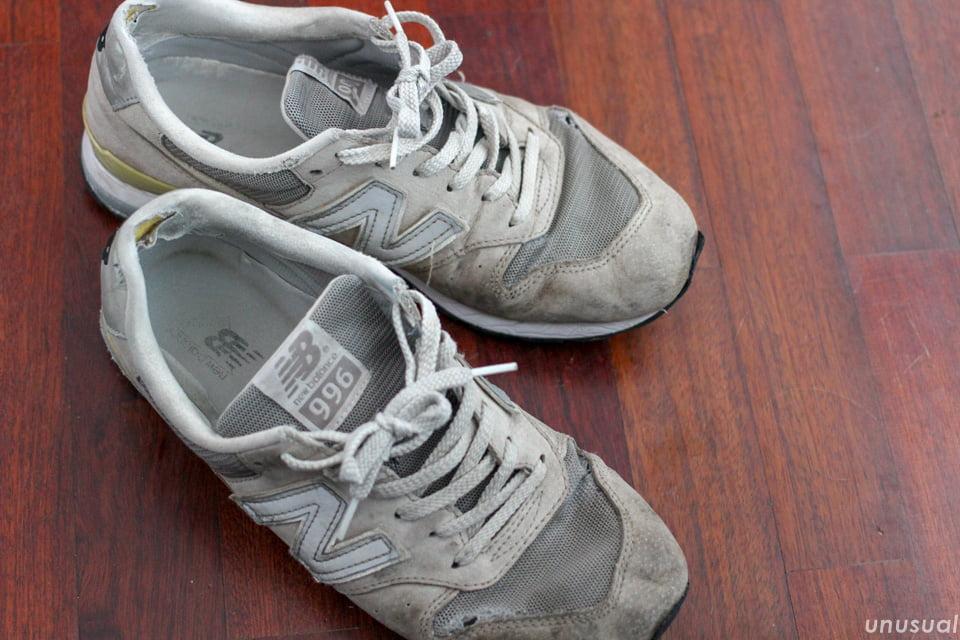 世界一周で履いている靴(スニーカー)