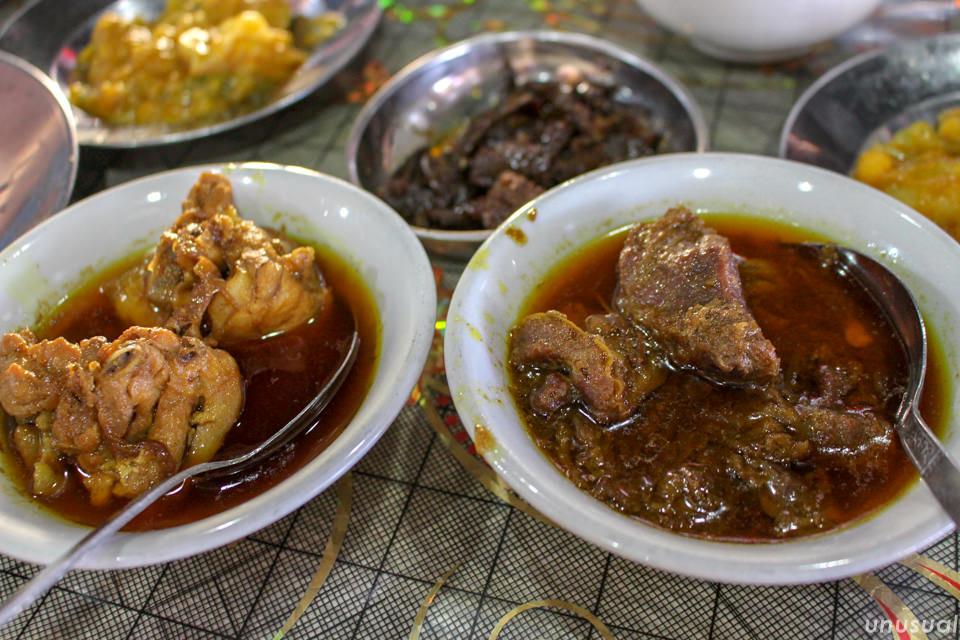 トーターヒン(ミャンマーのマトンカレー)