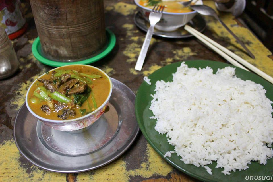 ネパールのカレー