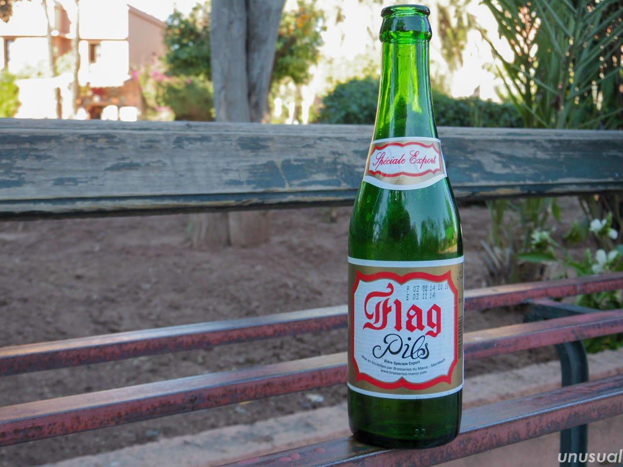 モロッコのビール