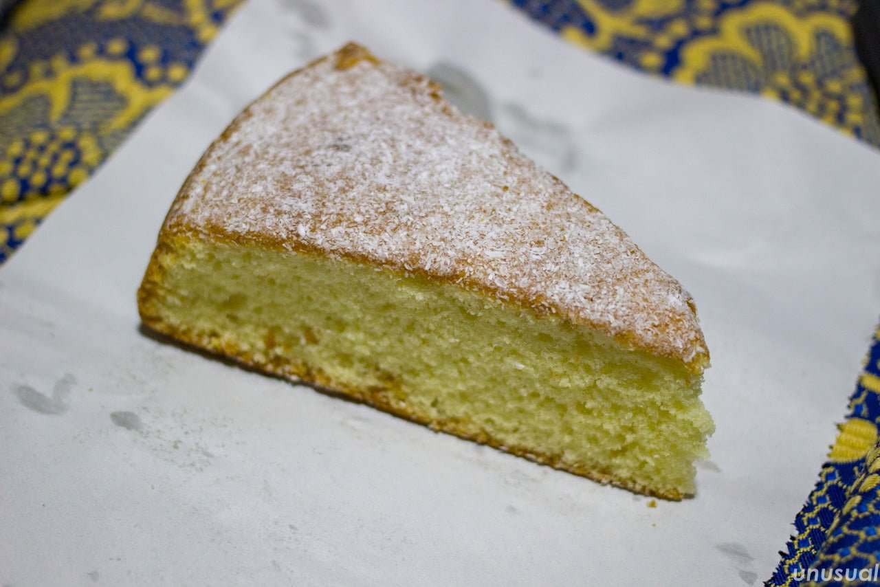 モロッコのケーキ