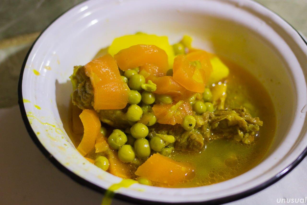 モロッコ料理 牛肉の煮込み