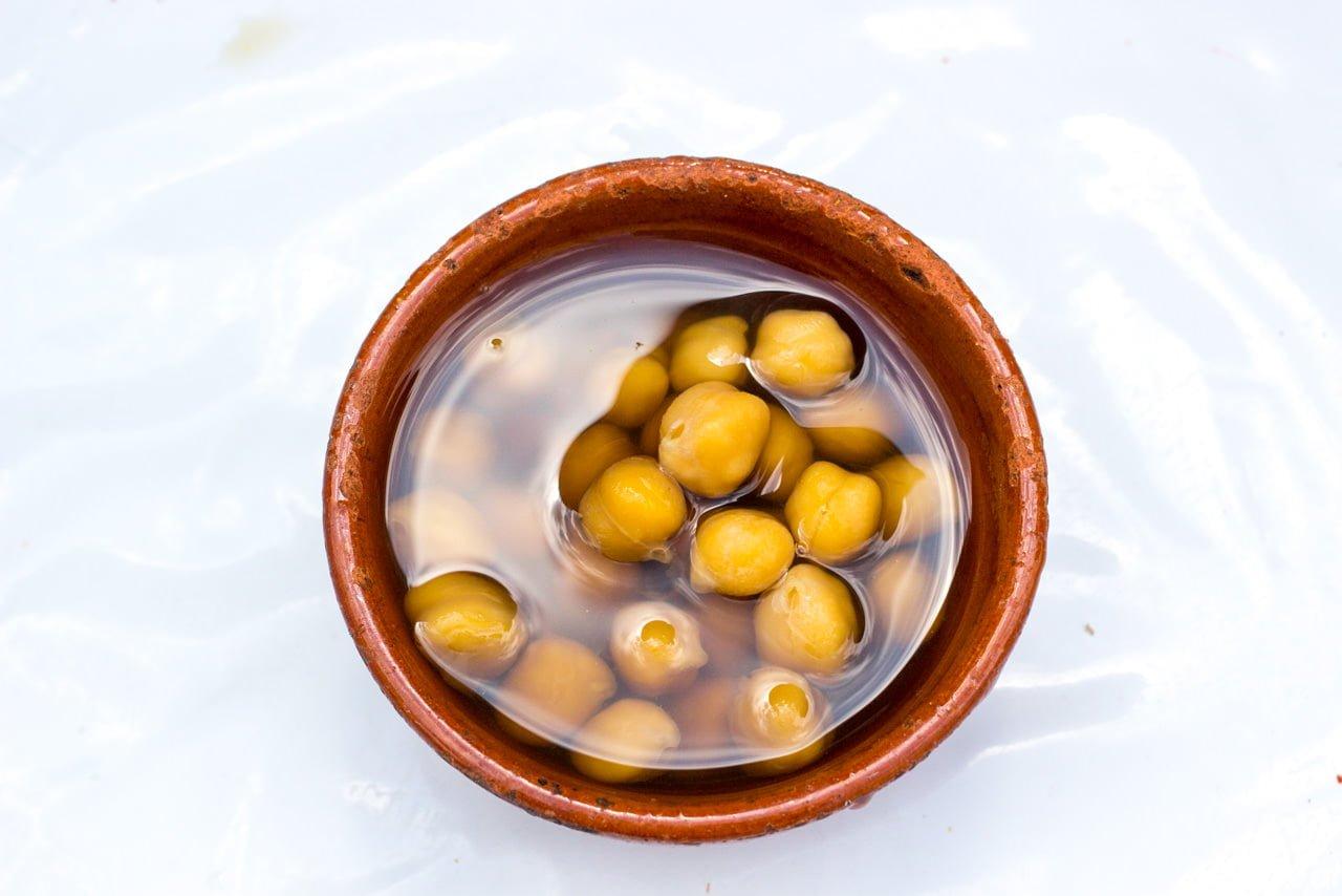 モロッコ料理 茹でたひよこ豆