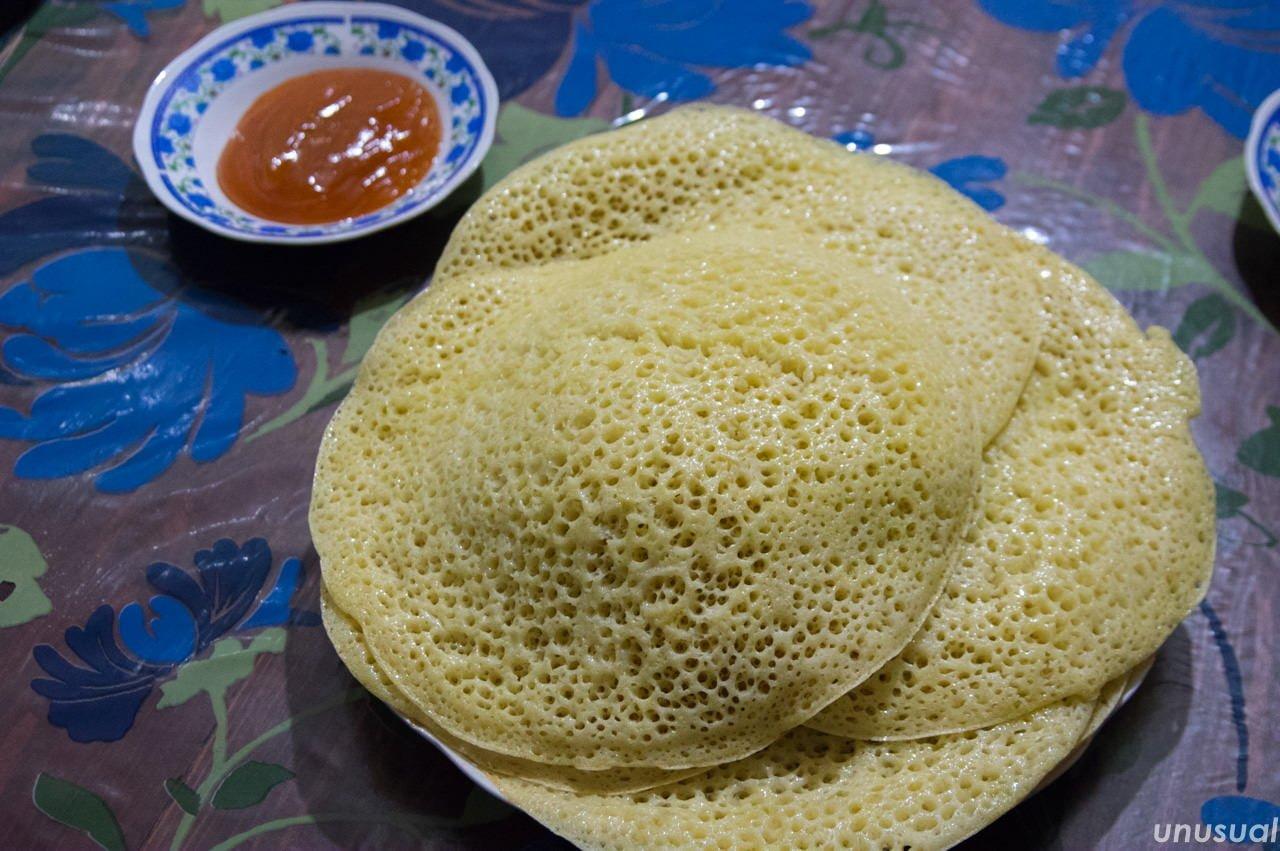 モロッコ料理 バグリール