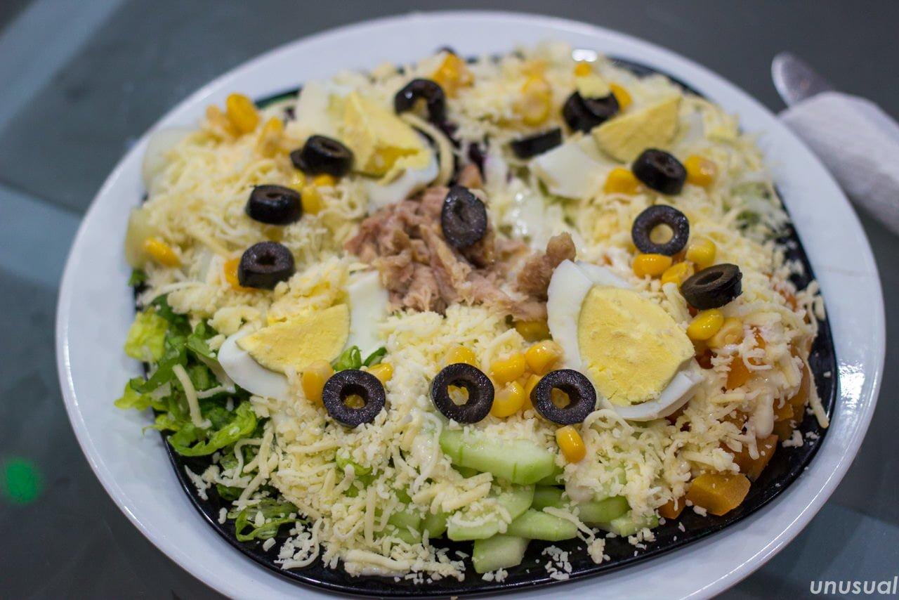 モロッコのサラダ