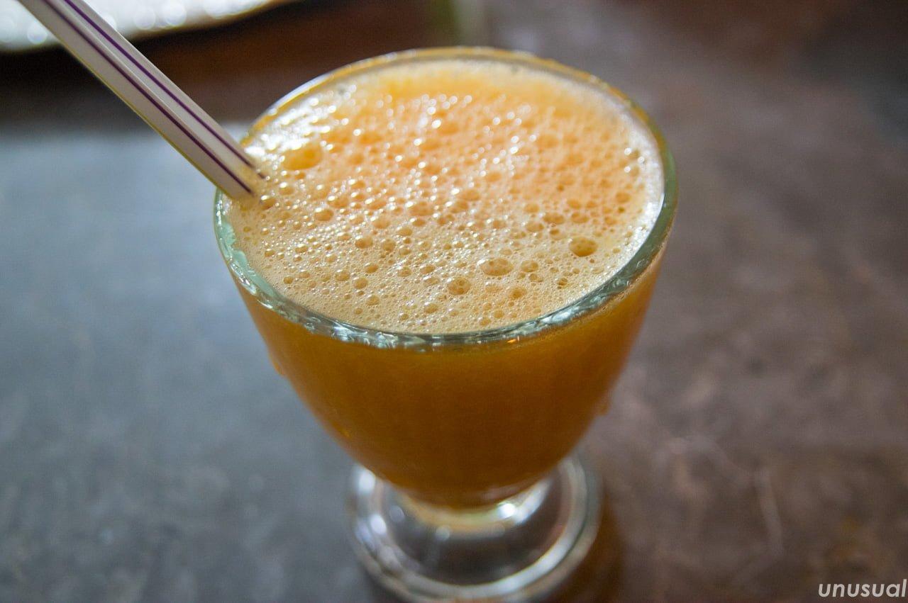モロッコのオレンジジュース