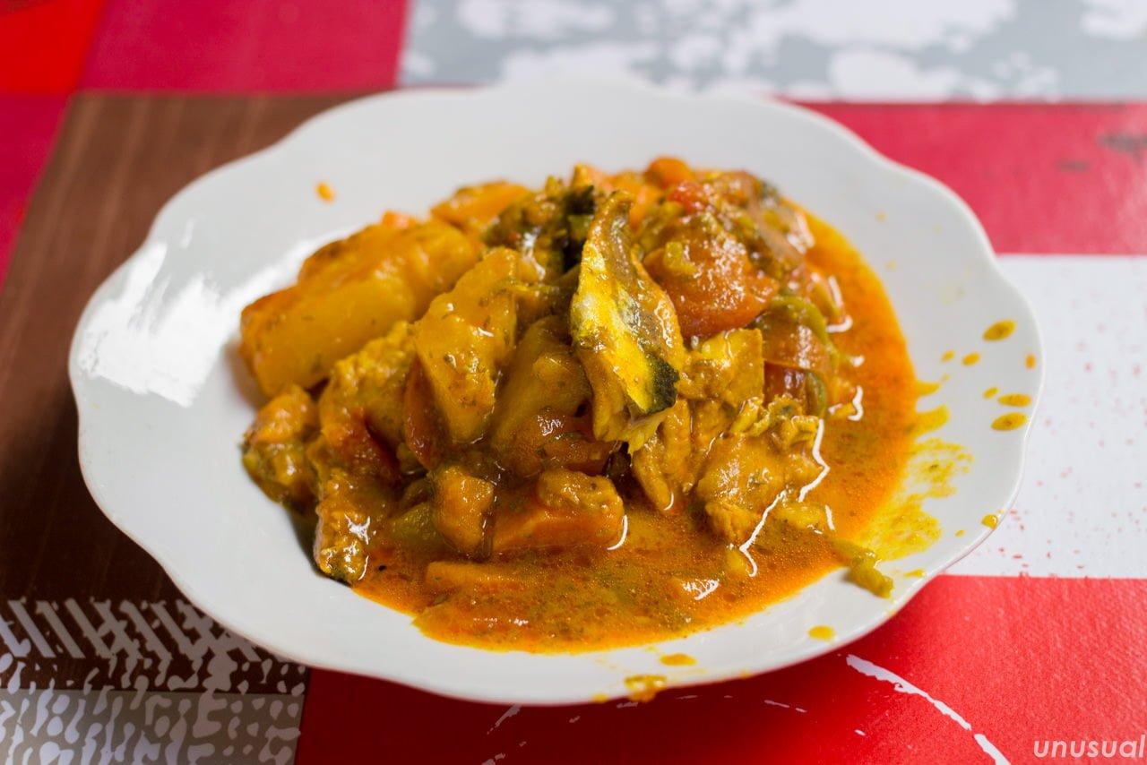 モロッコ料理 魚のタジン