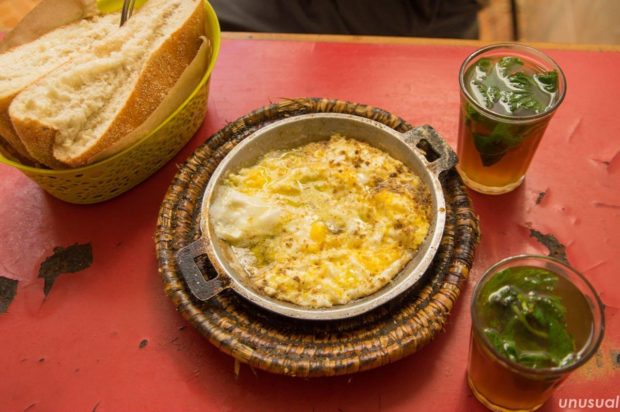 モロッコ料理 オムレツ