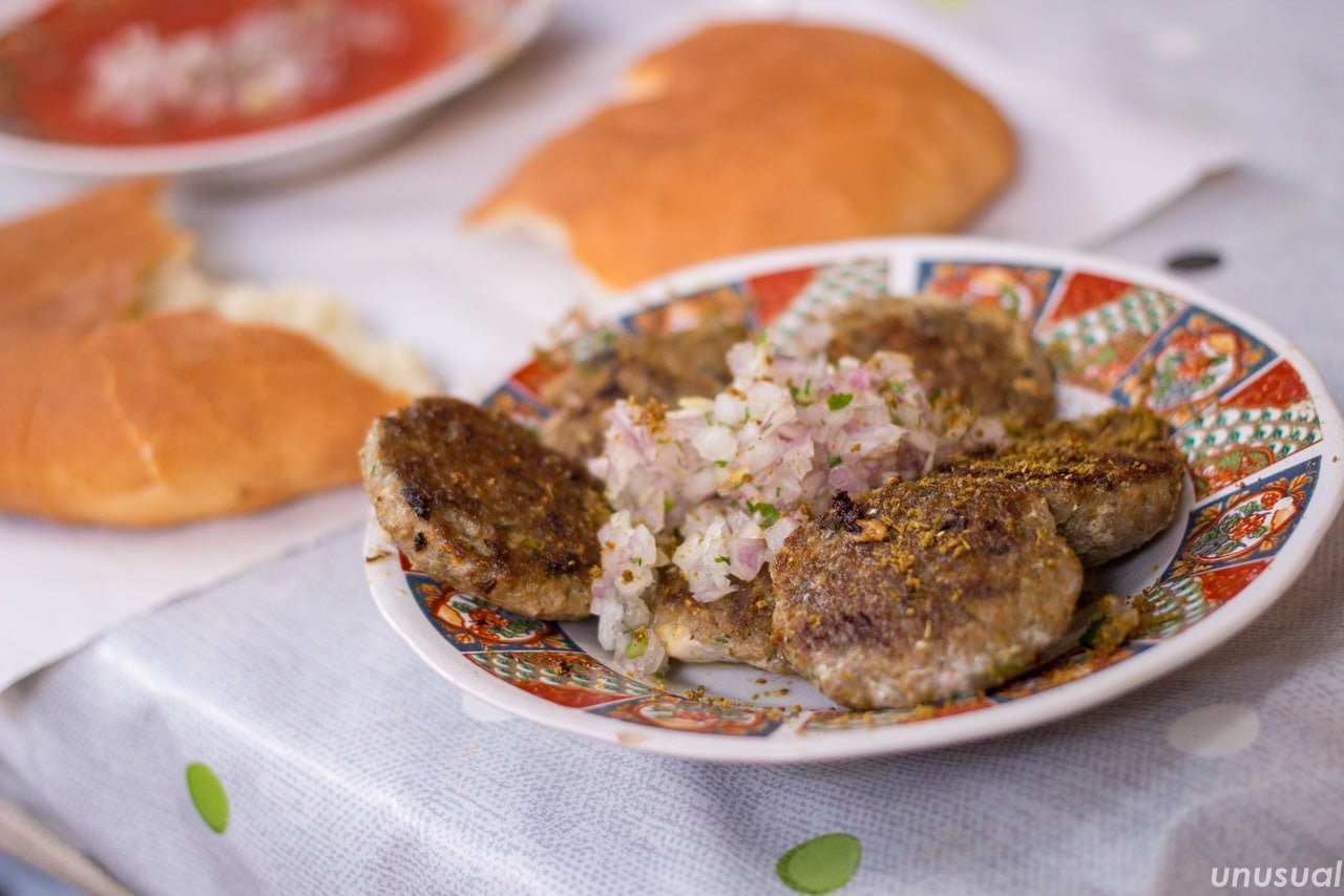 モロッコ料理 いわしのつくね