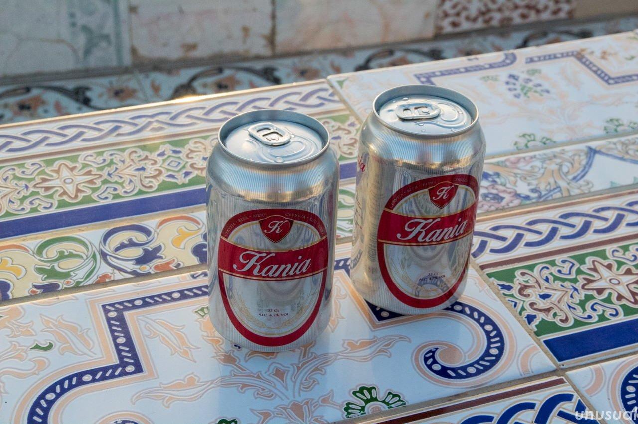 モロッコの缶ビール