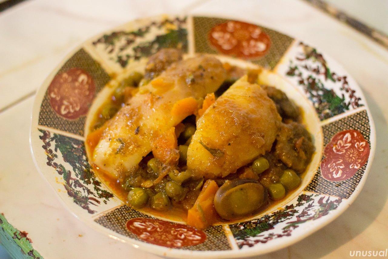 モロッコ料理 野菜の煮込み