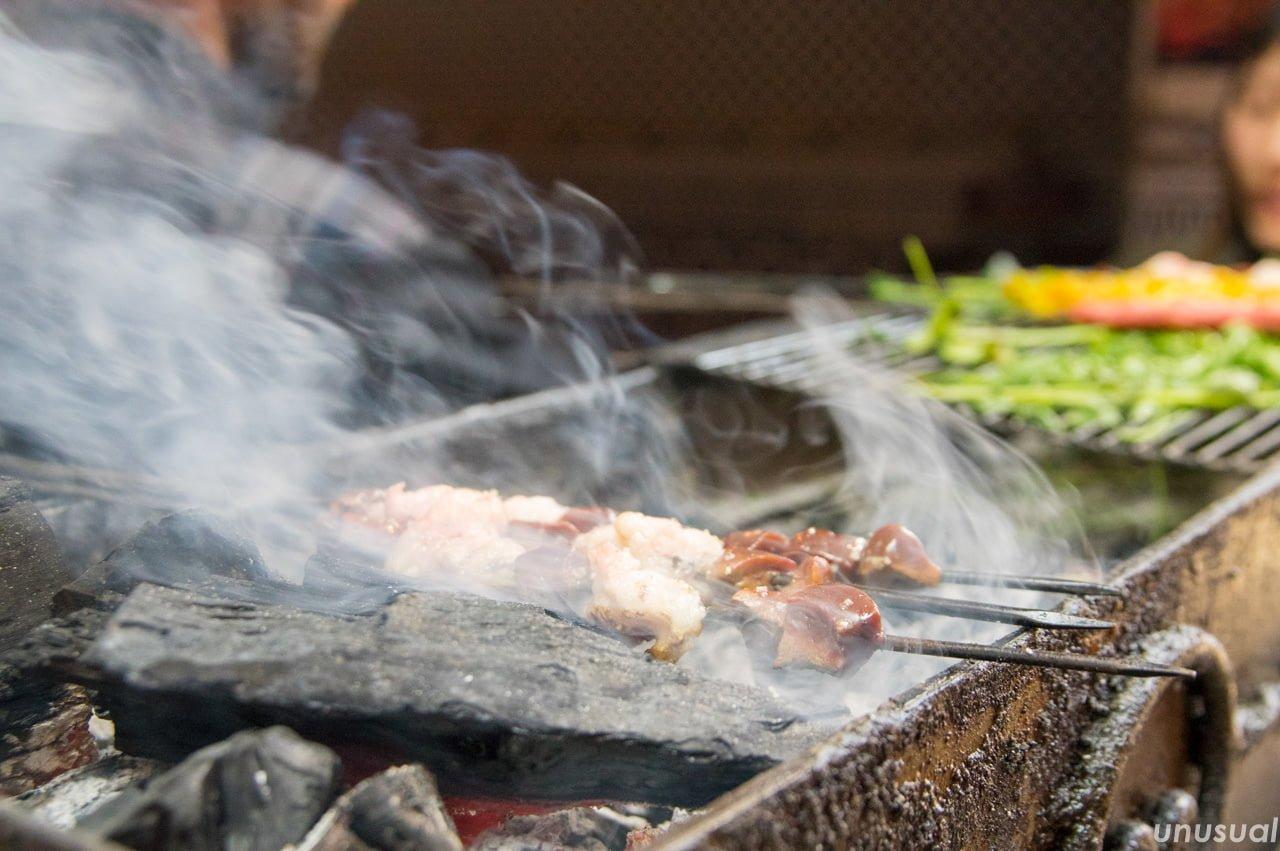モロッコ料理 焼き鳥