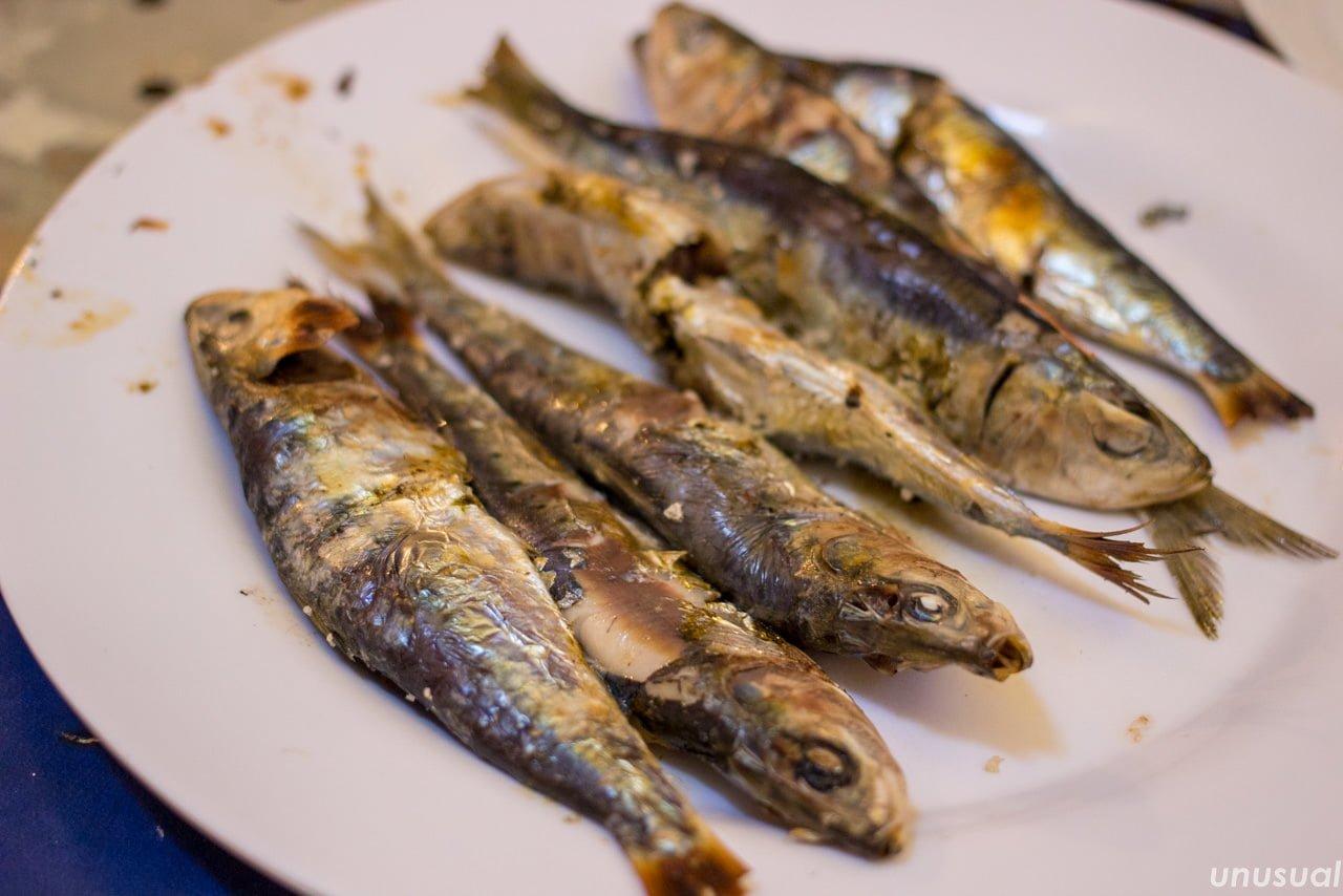 モロッコの焼き魚